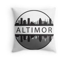 Baltimore Maryland Throw Pillow