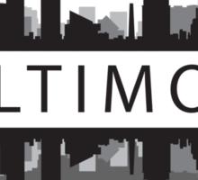 Baltimore Maryland Sticker