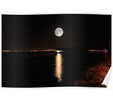 Inverness Moon Poster