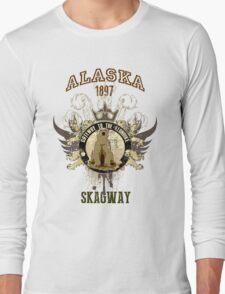 Skagway Alaska 1897 Long Sleeve T-Shirt