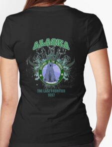 Famous Skagway Alaska  Womens Fitted T-Shirt