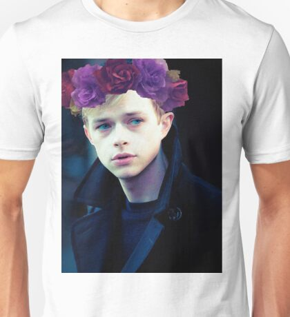 Dane DeHaan and his flower crown Unisex T-Shirt