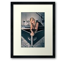 Complete with model Framed Print