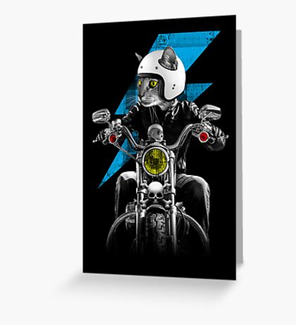Ride The Lightning Greeting Card