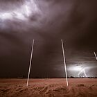 And The Crowd Was Electric! - Tjuntjuntjara, Western Australia by Liam Byrne
