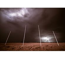 And The Crowd Was Electric! - Tjuntjuntjara, Western Australia Photographic Print