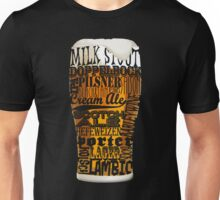 Beer Style Typography Unisex T-Shirt