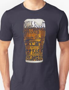 Beer Style Typography T-Shirt