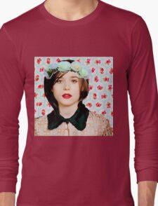 Ellen Page loves florals! Long Sleeve T-Shirt