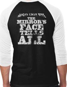 HLR - The Mirror's Face Tells All Men's Baseball ¾ T-Shirt