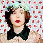 Ellen Page loves florals! by molley13