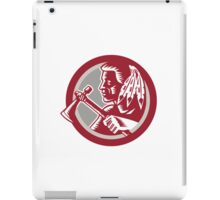 Native American Tomahawk Warrior Circle iPad Case/Skin