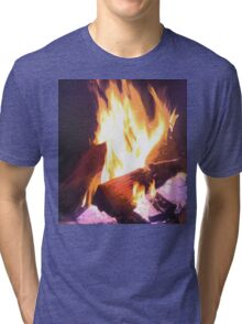 Let it Burn Tri-blend T-Shirt