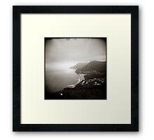 { vague skies } Framed Print