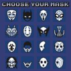 Choose Your Mask (Blue) by SamuriFerret