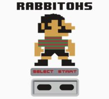 Rugby League - Rabbitohs 8-bit by markp1979