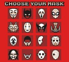 Choose Your Mask (Red) by SamuriFerret