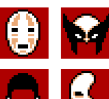Choose Your Mask (Red) Sticker
