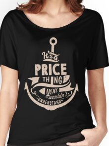 It's a PRICE shirt Women's Relaxed Fit T-Shirt