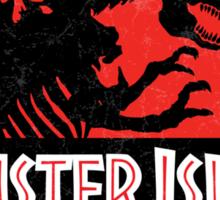Monster Island Sticker