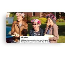 TFIOS ruined my life Canvas Print