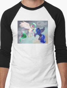 Canterlot Princesses Men's Baseball ¾ T-Shirt