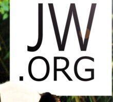 JW.ORG (Panda Bear) Sticker