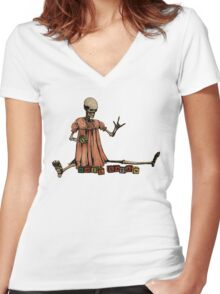 Elsie, Future Spelling Bee Champion Of The World Women's Fitted V-Neck T-Shirt