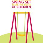 'Lonely, Vaguely Pedophilic Swing Set Seeks the Butts of Children by SecondHandShoes