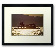 Paddlesteamer Framed Print