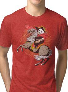 The Great Panda Ride Tri-blend T-Shirt