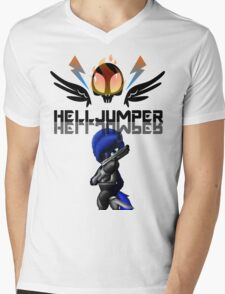 Pony Helljumper Mens V-Neck T-Shirt
