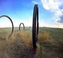 Wagon Train, Ogallala, Nebraska by HagstarStudios