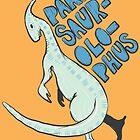 Parasaurolophus by HAZZAH