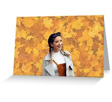 Zoella Fall Greeting Card