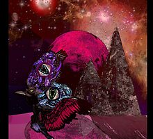 """IBLISS """"Ibis of the astral planes"""" by Dark Threads"""