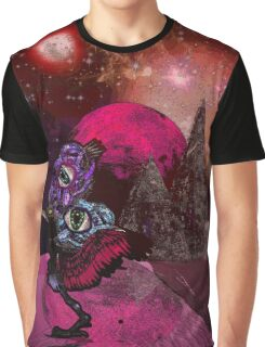 "IBLISS ""Ibis of the astral planes"" Graphic T-Shirt"