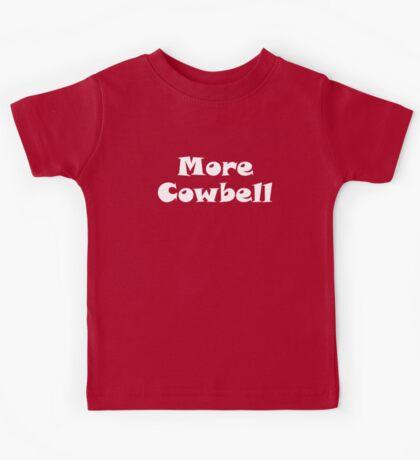 More Cowbell Kids Tee