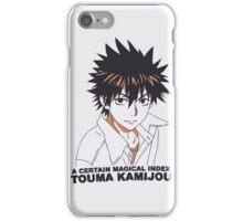 Touma Kamijou Tri-Color iPhone Case/Skin
