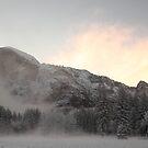 Yosemite - Half Dome sunrise by Mark Bolton