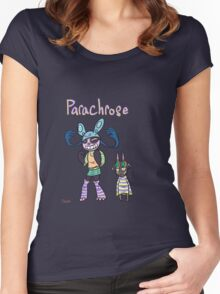 Parachrose: Chamomile  Women's Fitted Scoop T-Shirt