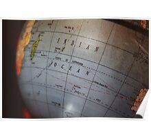 Globe Poster