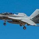 FA-18 Super Hornet Fly By by Nuttee Ratanapiseth