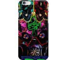 Egyptian Psychedelic Rave Face iPhone Case/Skin