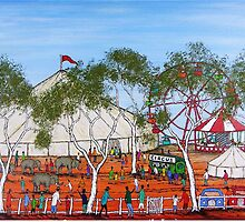 """""""Circus Outback Style"""" Australia;  FOR SALE by EJCairns"""