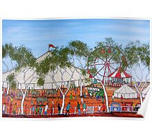 """Circus Outback Style"" Australia;  FOR SALE Poster"