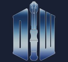 Doctor Who logo and Sonic Screwdriver by saqman