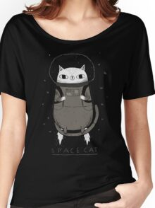 space cat Women's Relaxed Fit T-Shirt