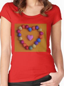 Love Easter! Women's Fitted Scoop T-Shirt