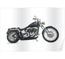 2003 H.D. Softail Custom 1 Poster